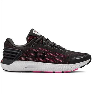 Women's UA Under Armour Sneakers Pink Size 9 Black